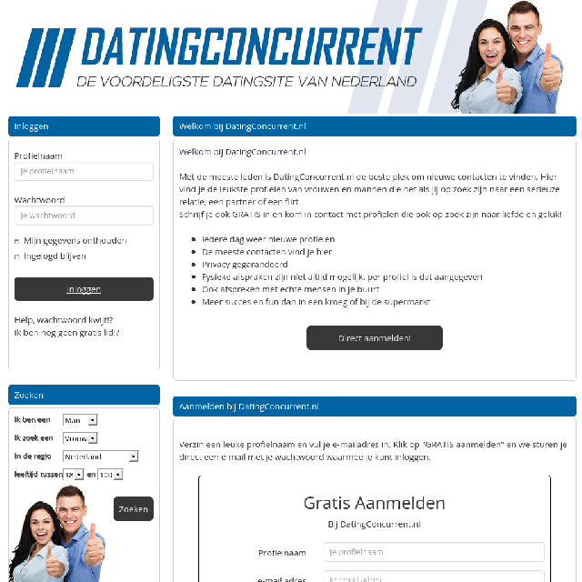 datingconcurrent.nl